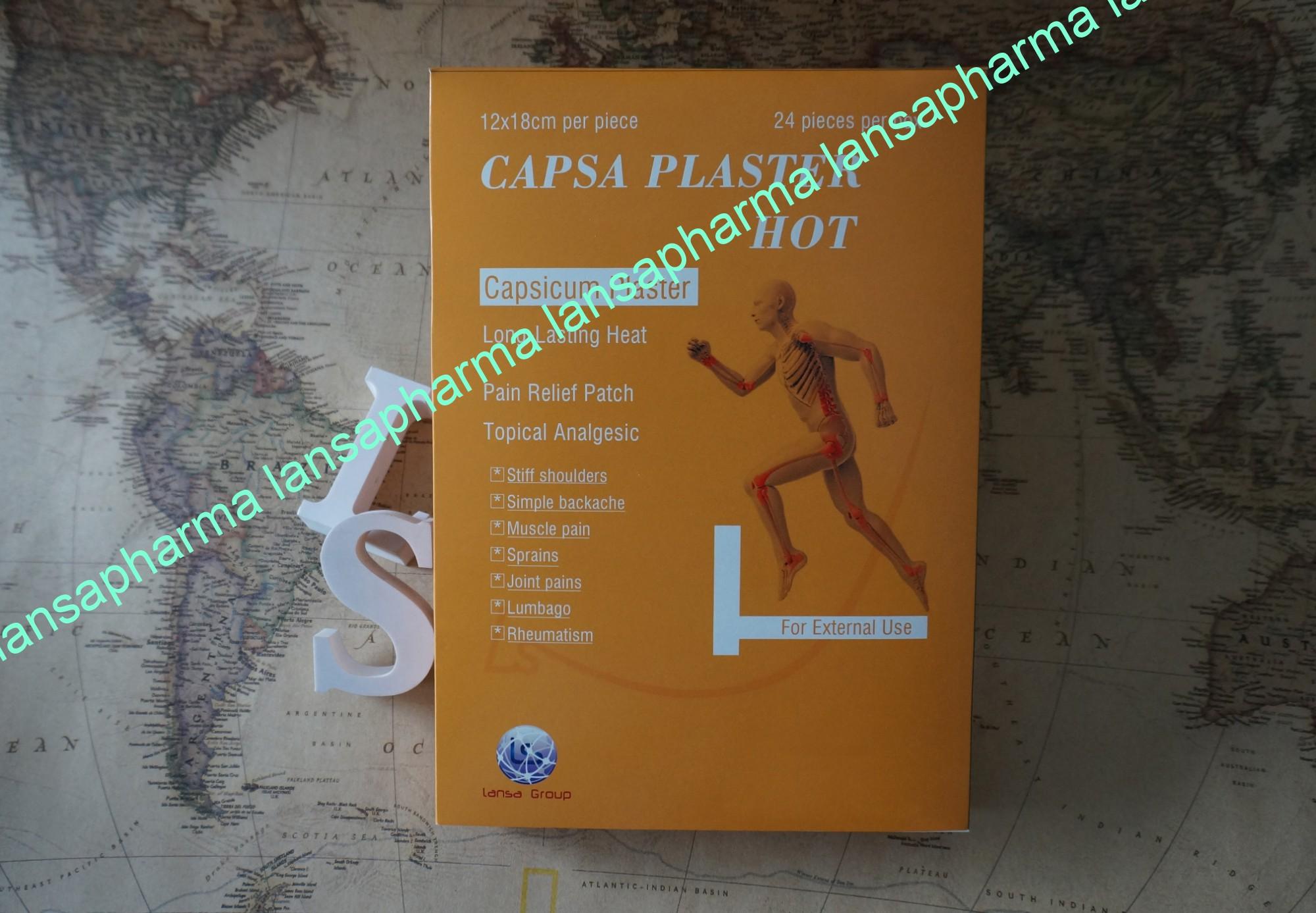 capsa plaster hot