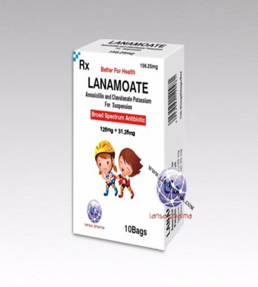 Amoxicillin and Clavulanate Potassium For Suspension