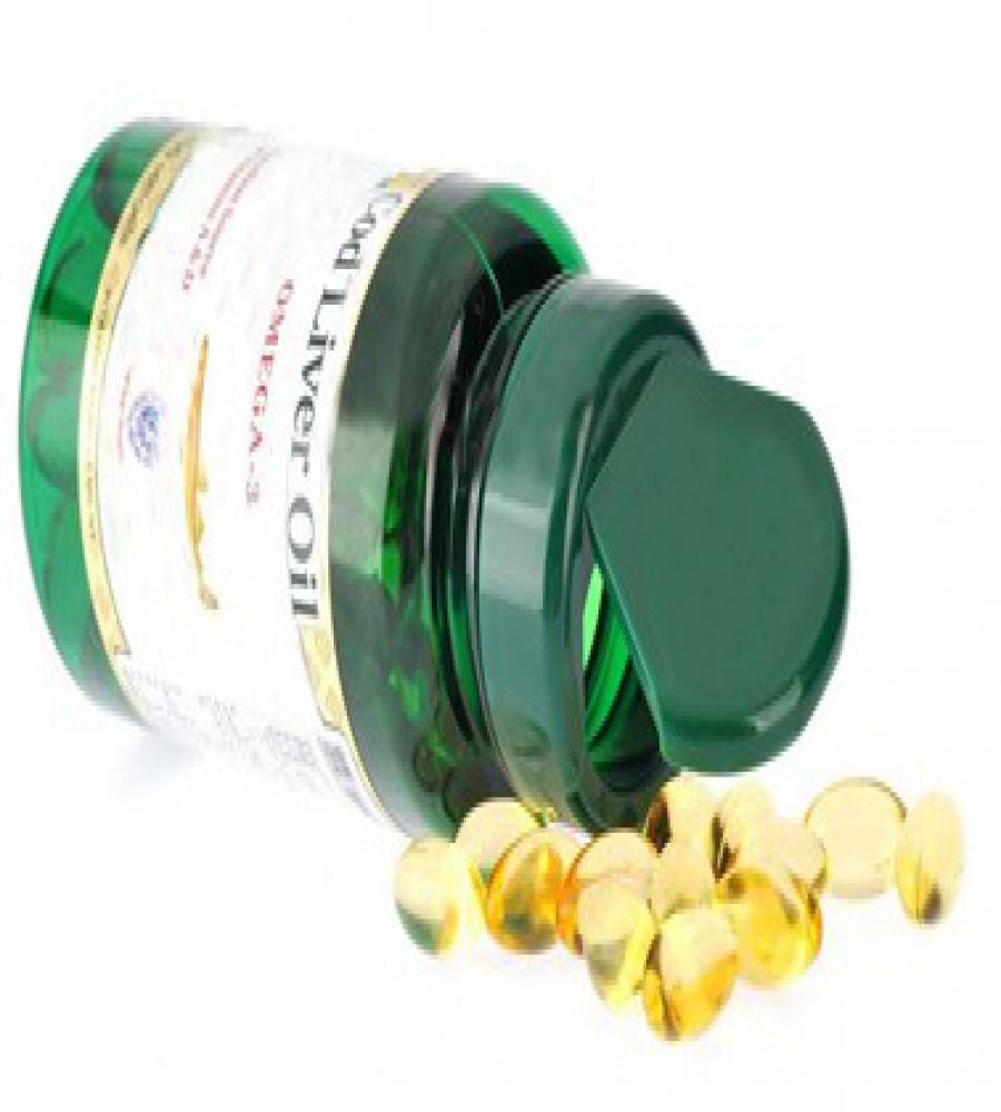 Natural vitamin E & Cod liver oil softgel